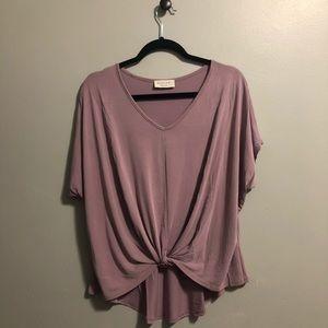 Lavender/Mauve Top